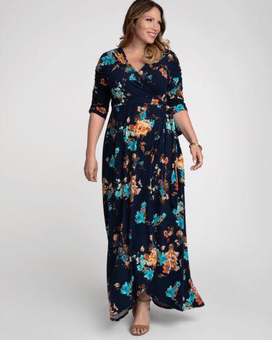 Plus size graduation dresses by Kiyonna