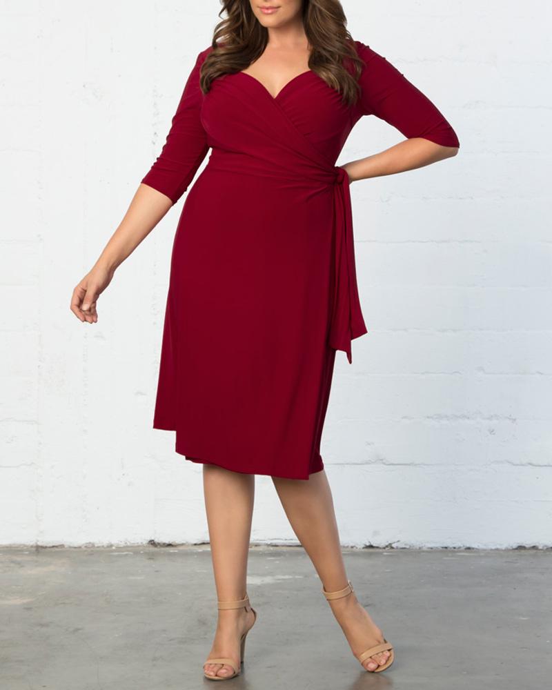 plussize dress,