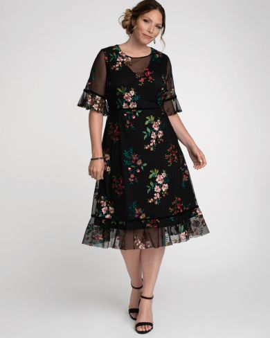 Plus Size Dresses for Wedding Guest   Kiyonna Clothing