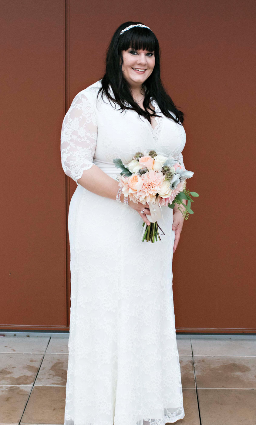 Amour Grace plus size wedding gown