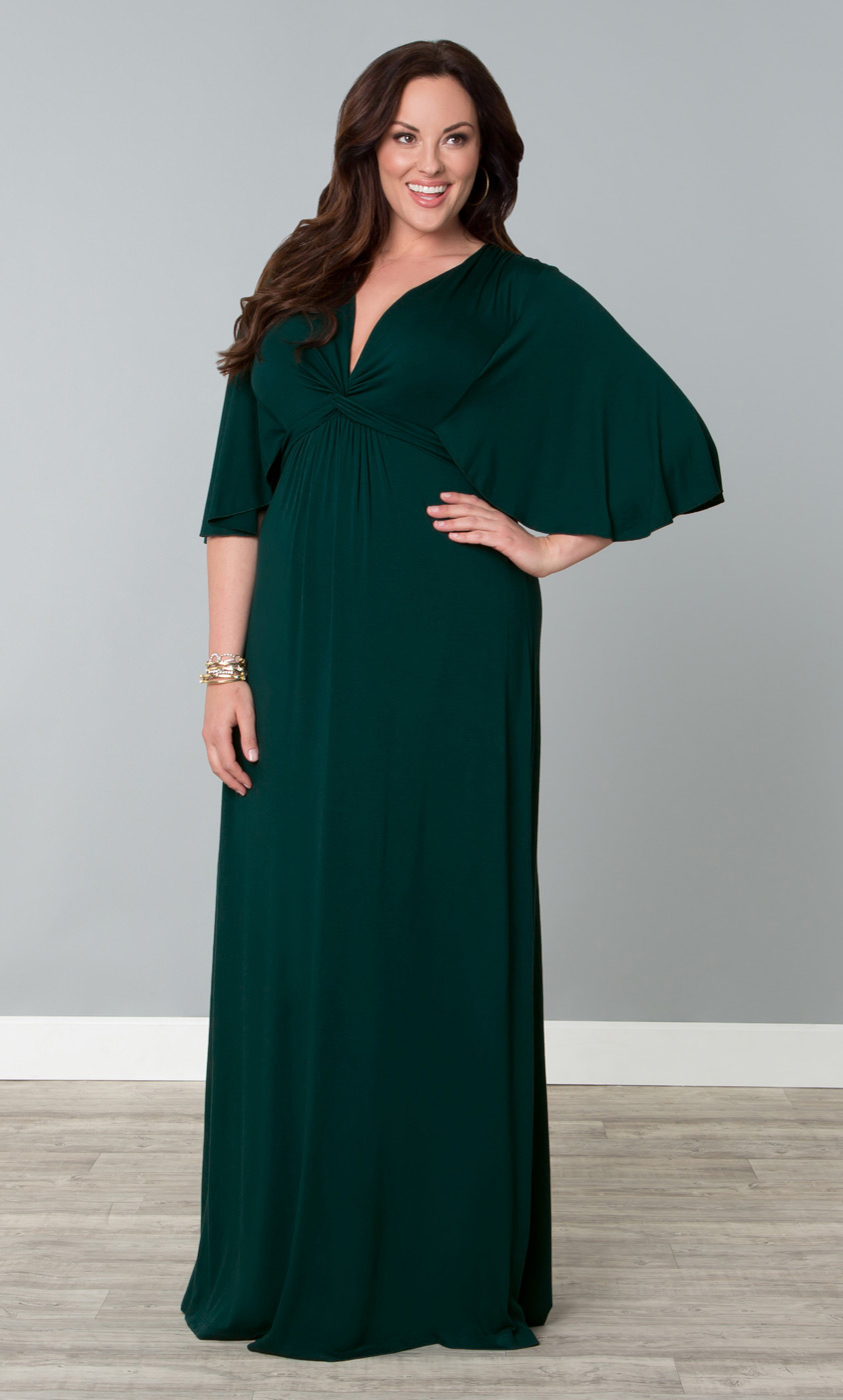 Maxi Dresses: Plus Size Fashion - Kiyonna Clothing