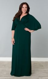 Charlize Maxi Dress, Green with Envy (Womens Plus Size)