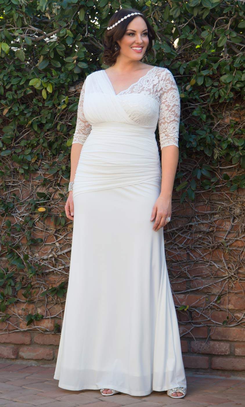 Women's Plus Size Wedding Dresses and Gowns | Kiyonna