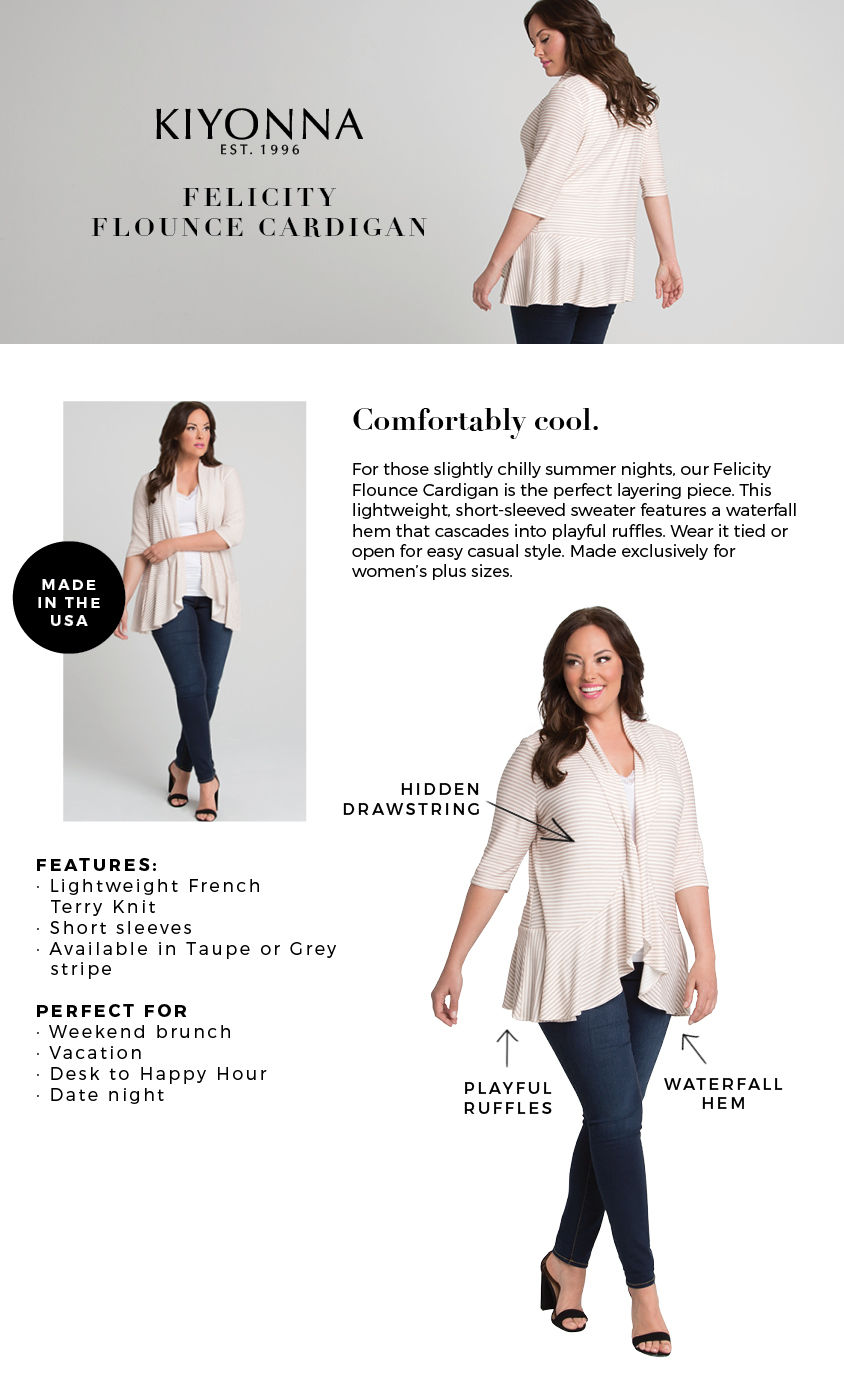 Plus Size Summer Cardigan Short Sleeve Cardigan Sweater