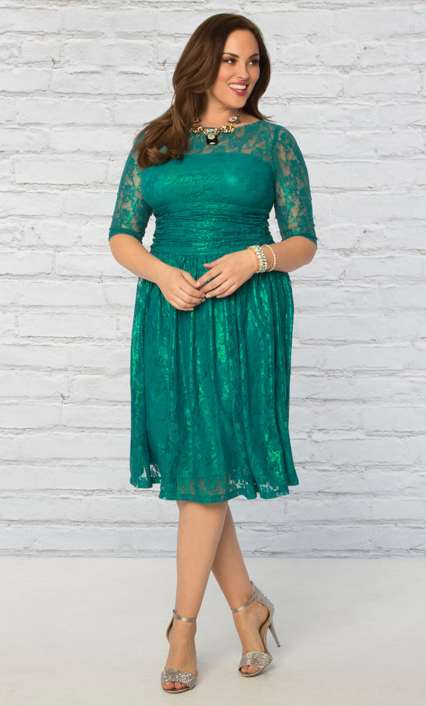 Limited Edition Radiant Lace Dress-Sale