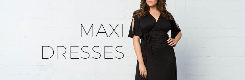 Plus Size Maxi Dresses | Plus Size Long Dresses Online | Kiyonna ...