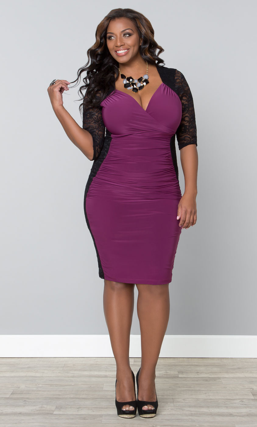 If you need the perfect plus size dress, David's Bridal has an extensive collection of Kiyonna dresses for all of your special events.
