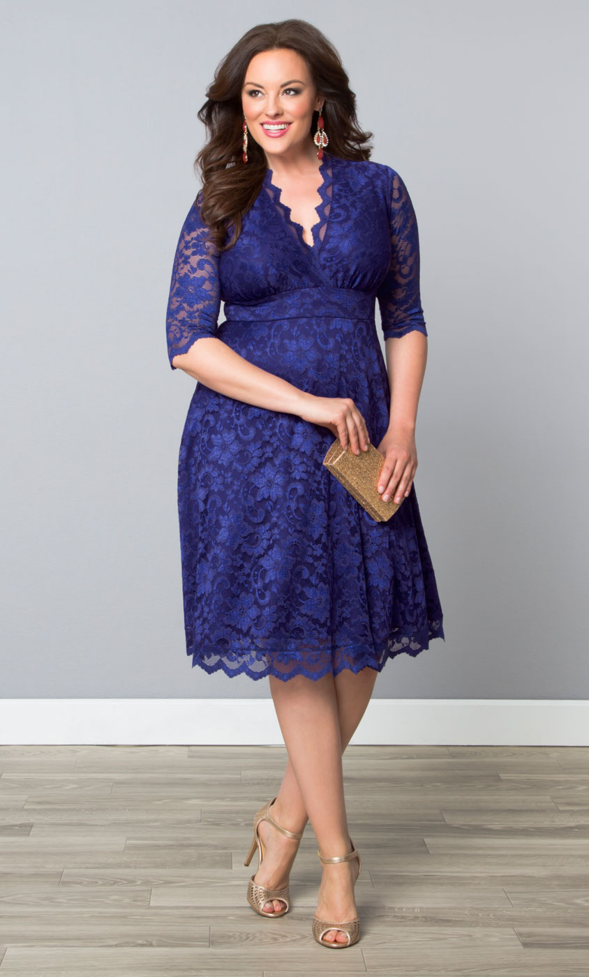 Plus Size Cocktail Dresses | Mademoiselle Lace Dress
