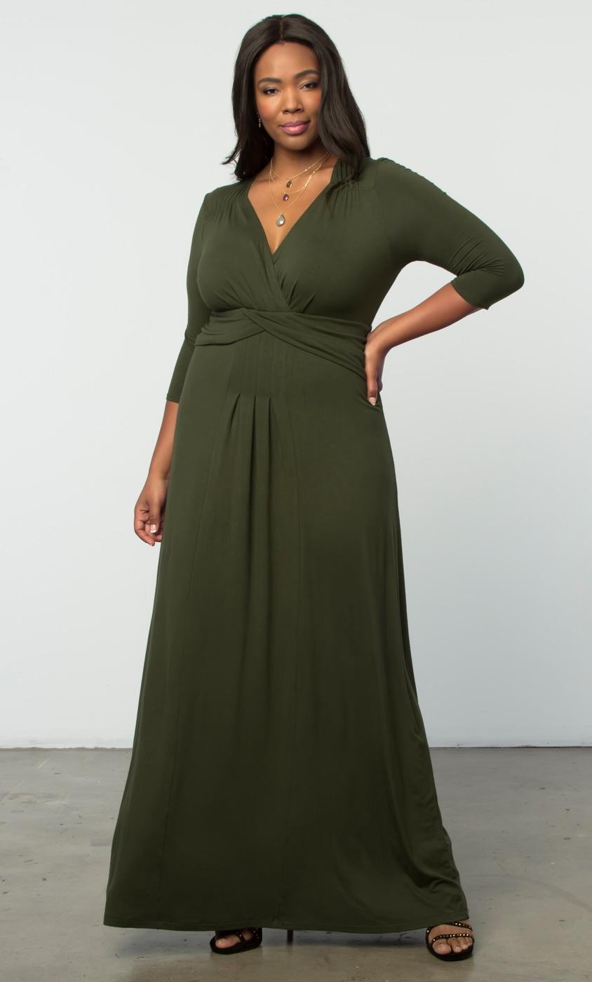 plus size maxi dresses | plus size long dresses online | kiyonna