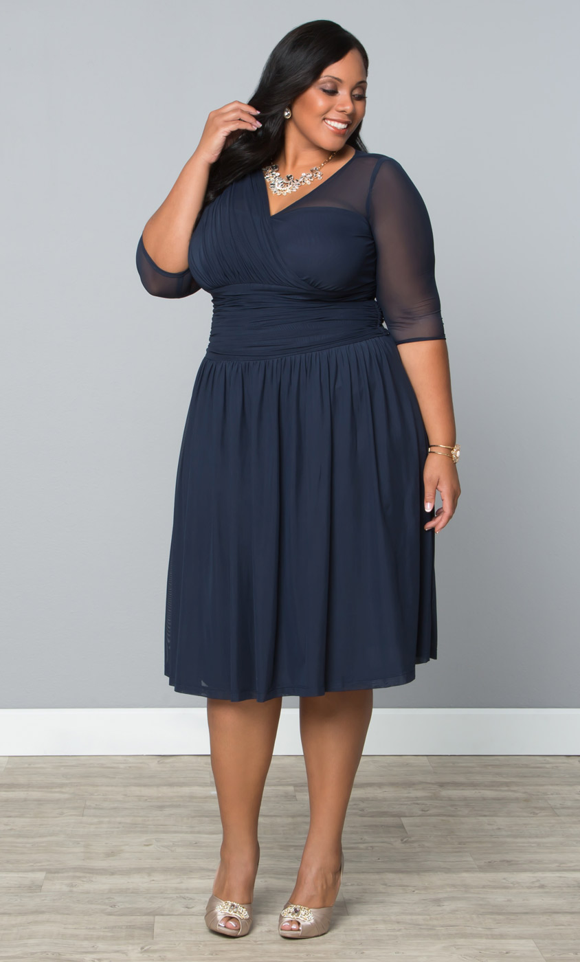 Name brand plus size dresses