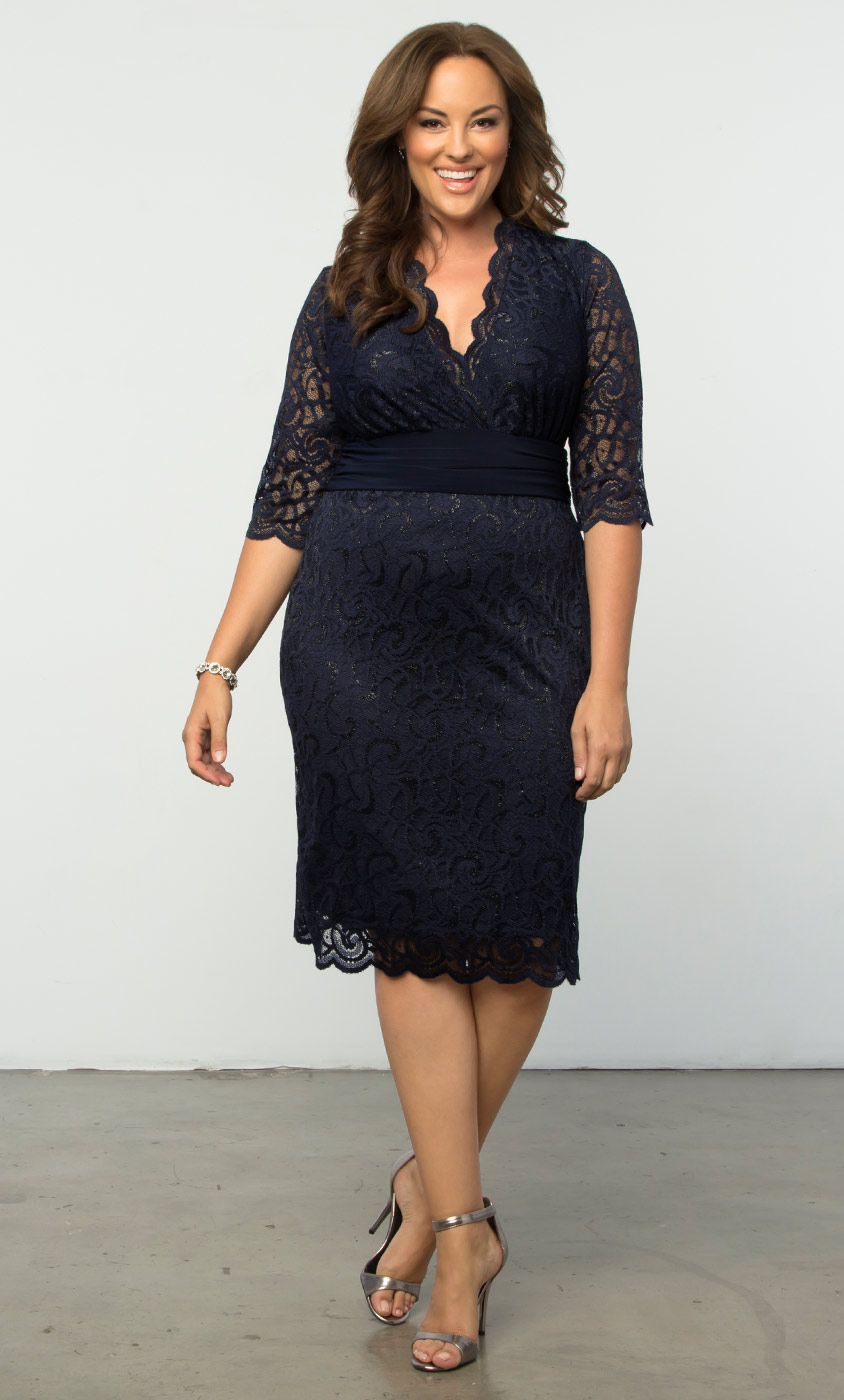 Special Occasion Lace Dresses: Plus Size Dress  Kiyonna