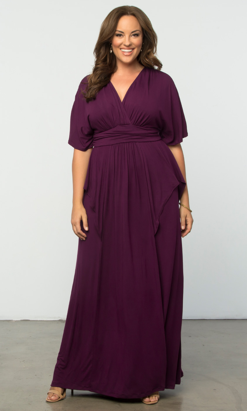 Plus Size Maxi Dresses | Plus Size Long Dresses Online | Kiyonna ...
