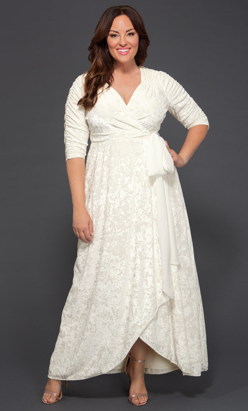 93f55a64e30 Plus Size Wedding Dresses for Women