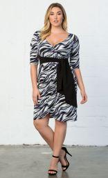 Dahlia Faux Wrap Dress