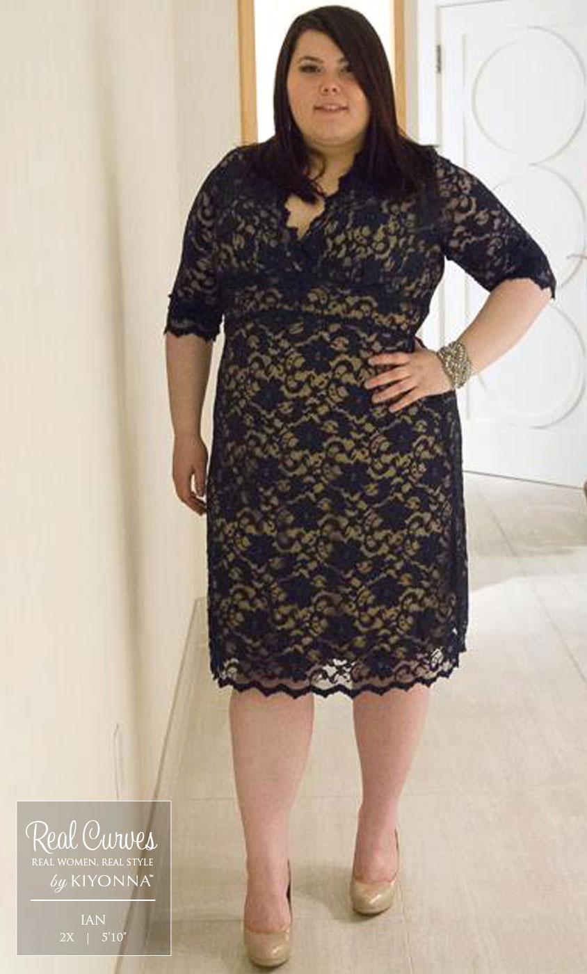 Brown Lace Dress