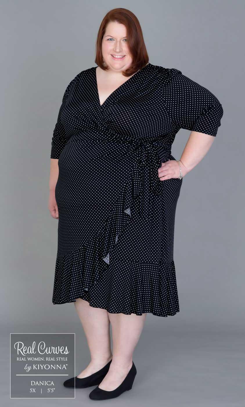 Plus Size Wrap Dress Kiyonna 39 S Plus Size Wrap Dresses