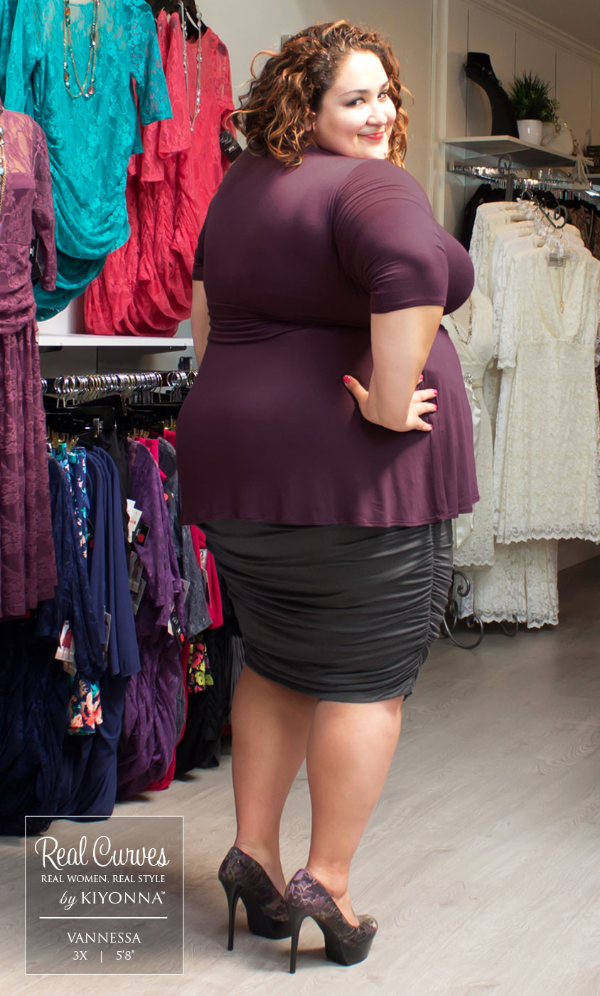 Plus Size Skirt Kiyonna S Trendy Plus Size Skirts