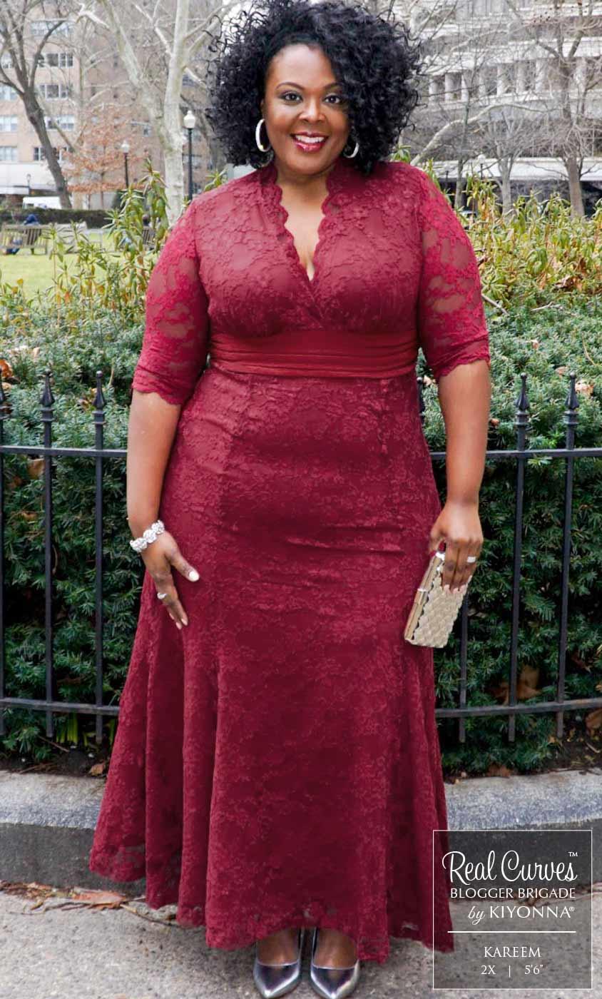 Plus Size Special Occasion Dress | Kiyonna's Plus Size ... - photo #8
