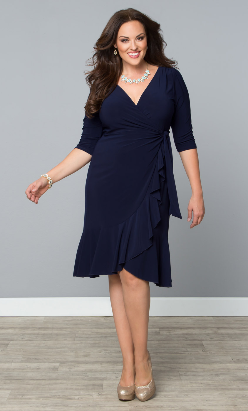 Whimsy Wrap Dress