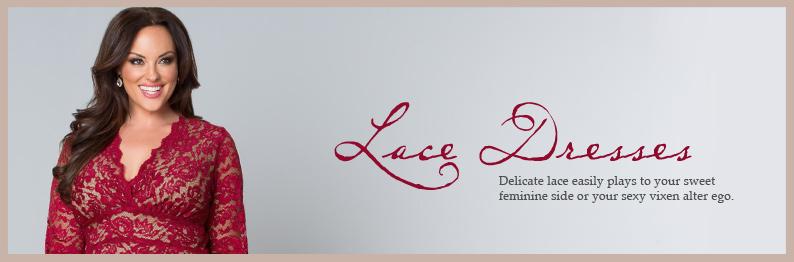Special Occasion Plus Size Lace Dresses