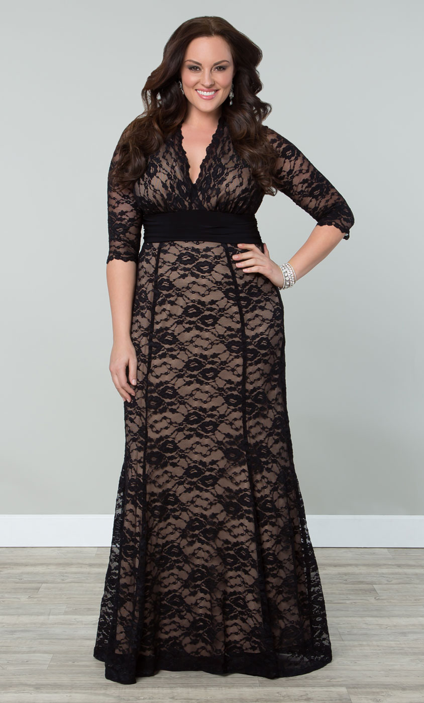 Plus Size Special Occasion Dress | Kiyonna's Plus Size ... - photo #10