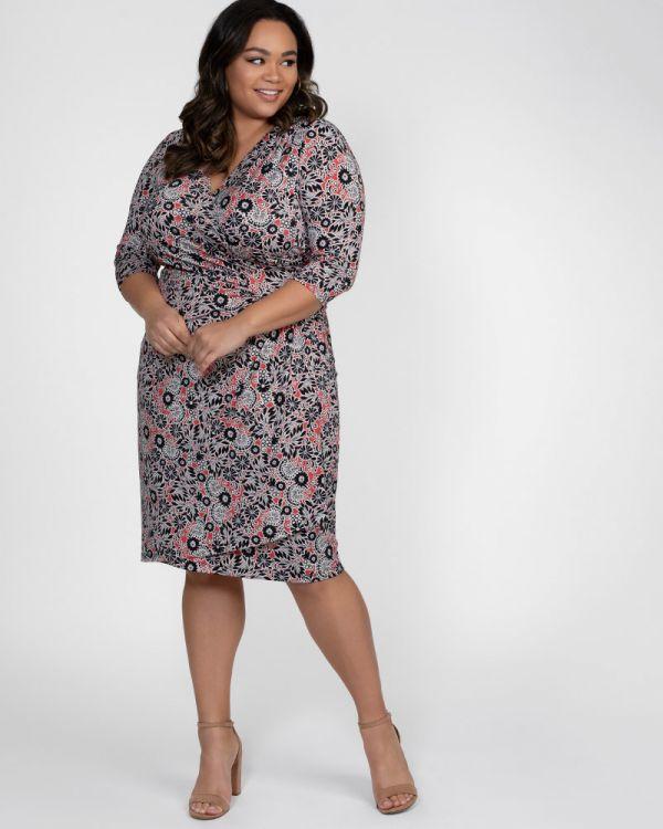 0ecb482ef70 Plus Size Wrap Dress
