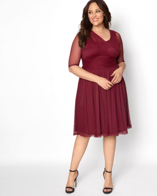 0799976e9a0 Emilia Mesh Dress - Sale!