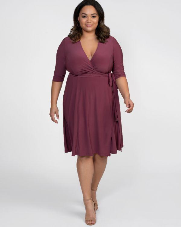 Essential Wrap Dress - Sale!