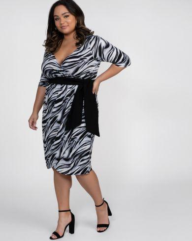 9a14424b52b Harlow Faux Wrap Dress-Sale!