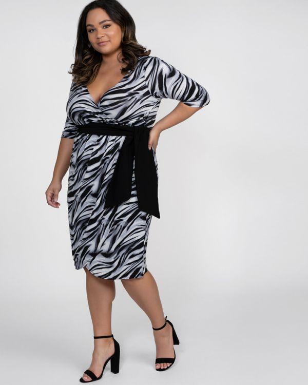 Harlow Faux Wrap Dress-Sale!
