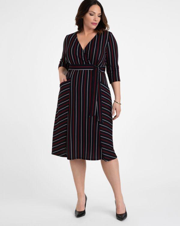 Harmony Faux Wrap Dress - Sale!