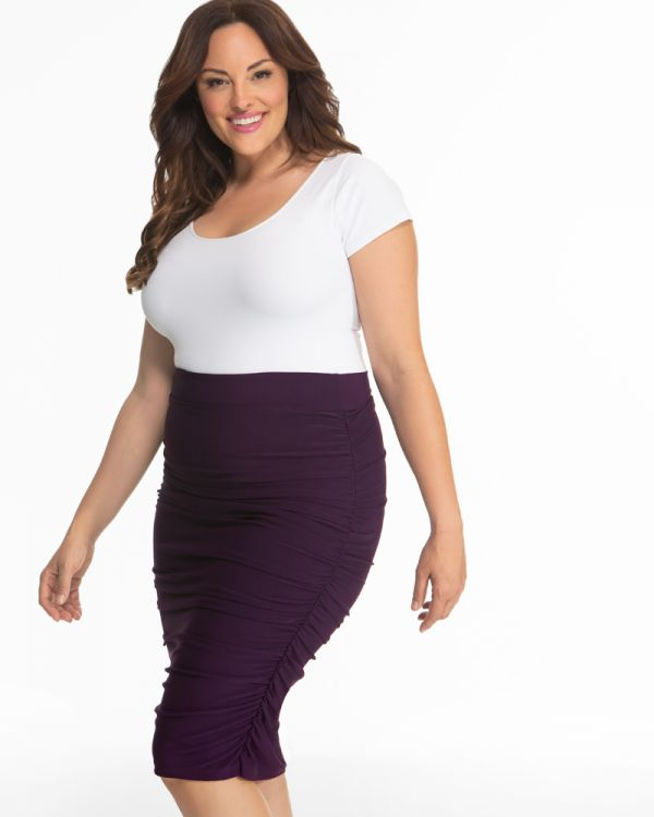 Helena Ruched Skirt-Sale!