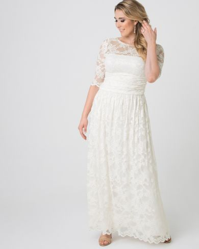 10e513868a59 Plus Size Wedding Dresses for Women | Kiyonna Clothing