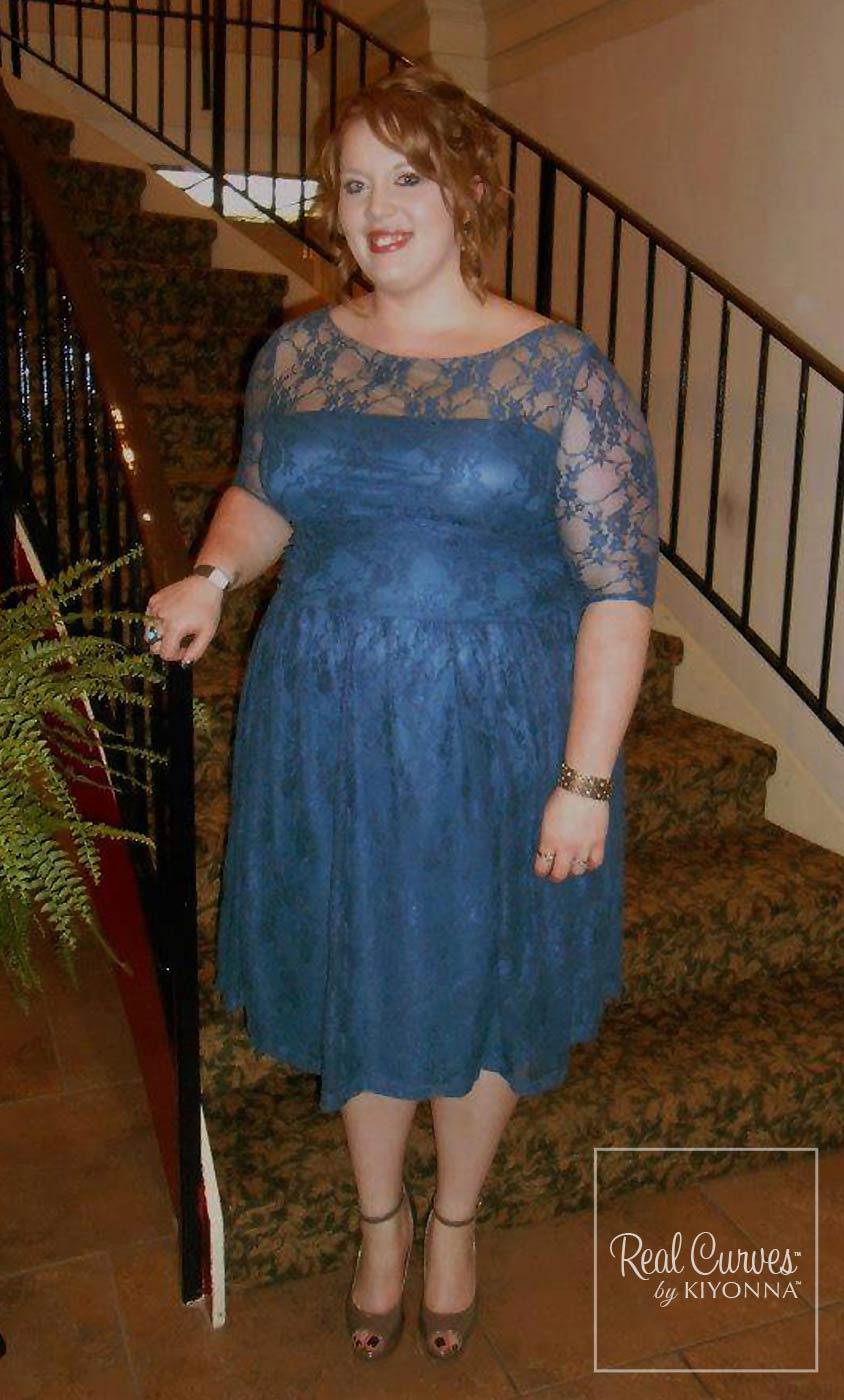 Luna lace up dress