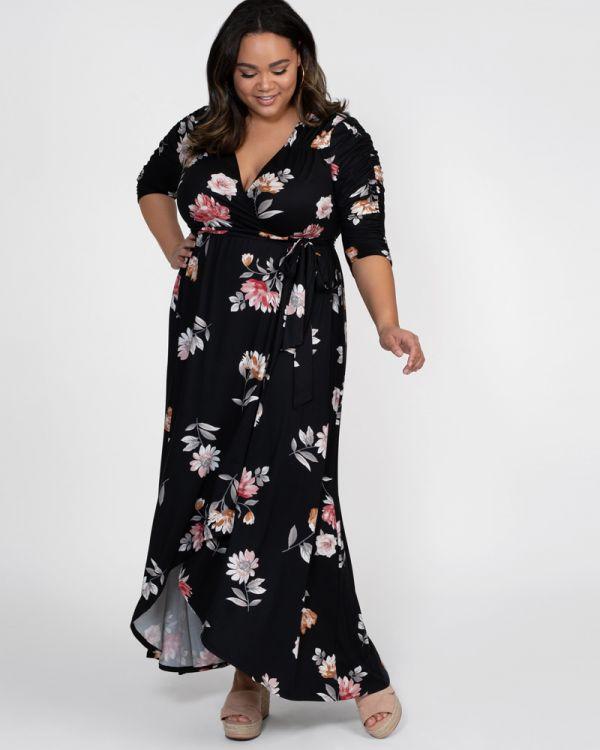 d13f75b4644 Plus Size Long Dresses