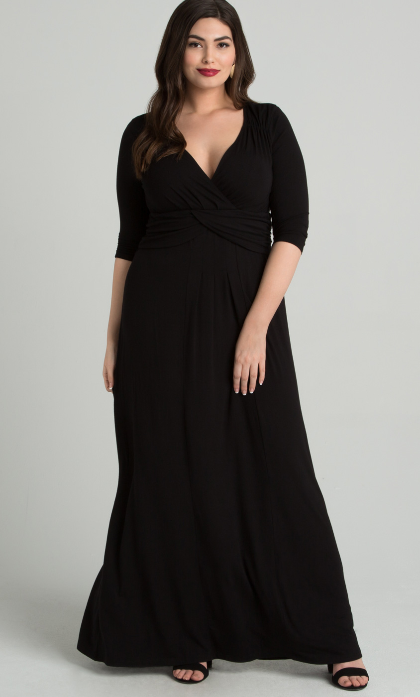 desert rain maxi dress  plus size jersey maxi dress