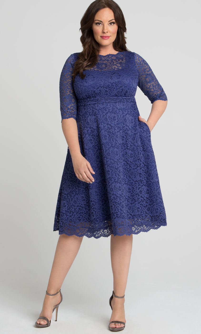 Plus Size Cocktail Party Dresses | Evening Dresses | Formal Gowns ...