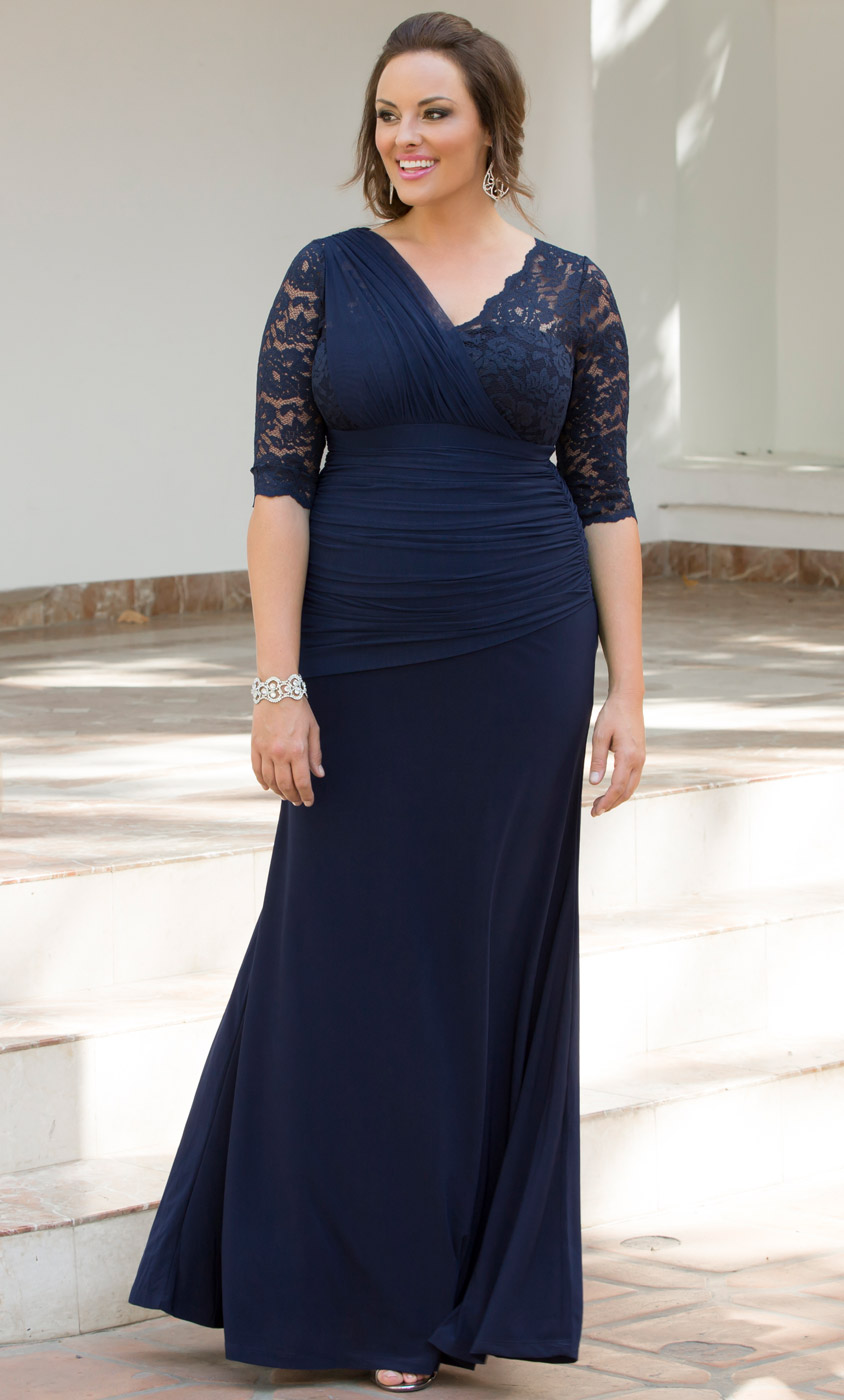 plus size formal dresses | special occasion lace dresses | kiyonna
