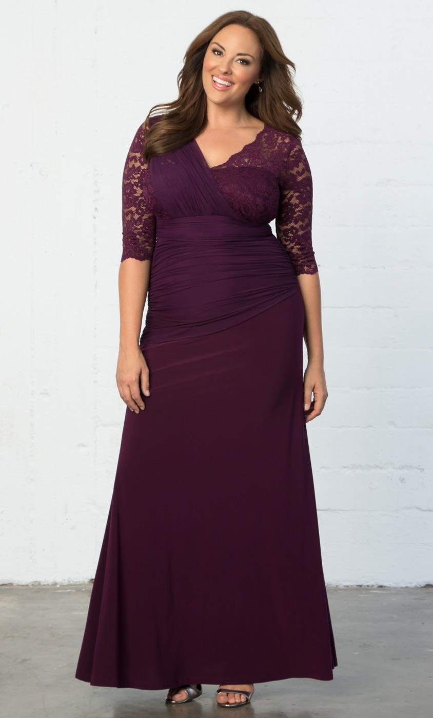 50s Plus Size Evening Dresses