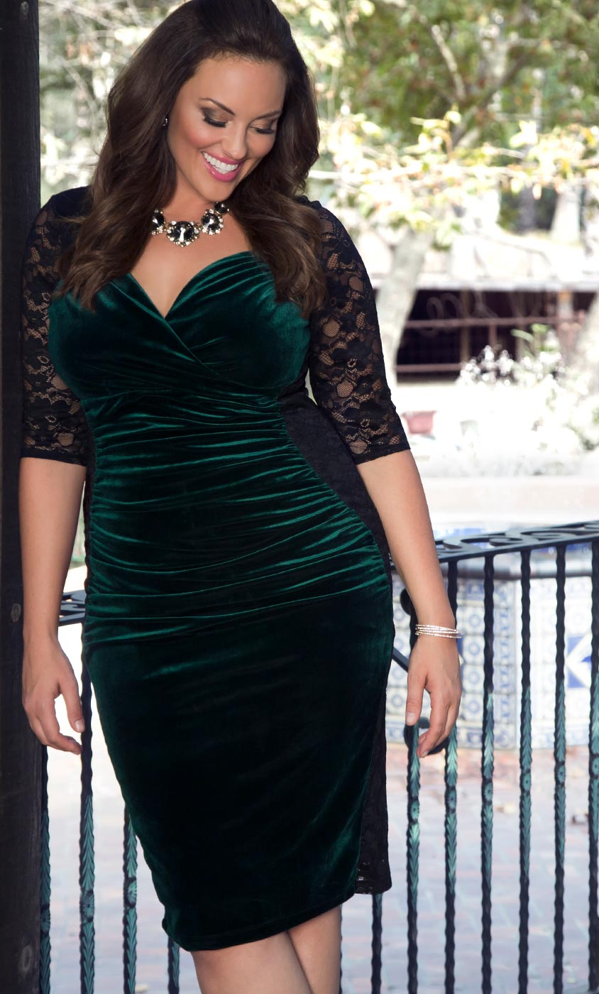 Plus Size Formal Dresses | Special Occasion Lace Dresses | Kiyonna ...
