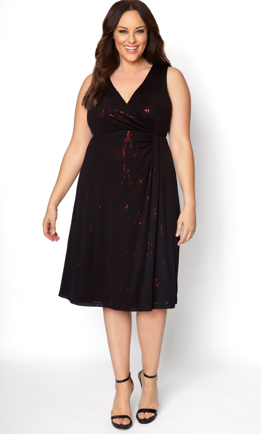 Empire Waist Wrap Dress Empire Plus Size Formal Dress