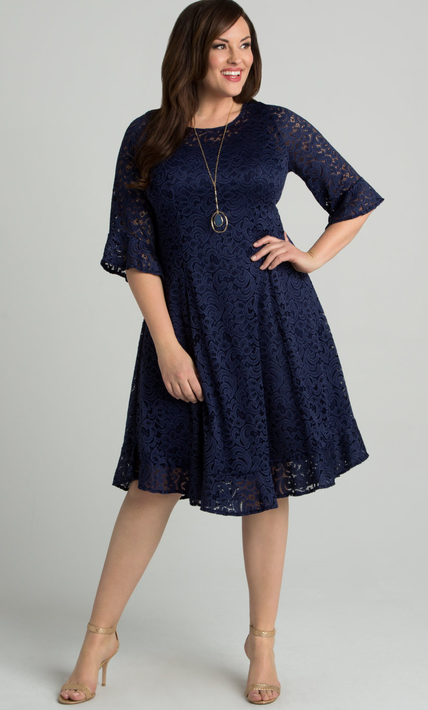 Lace Plus Size Formal Dresses