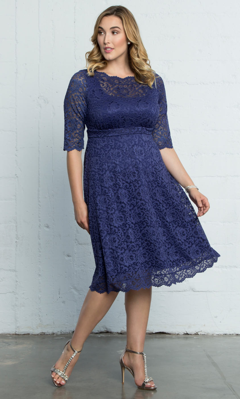 Plus Size Lace Dresses | Lacey Cocktail Dress