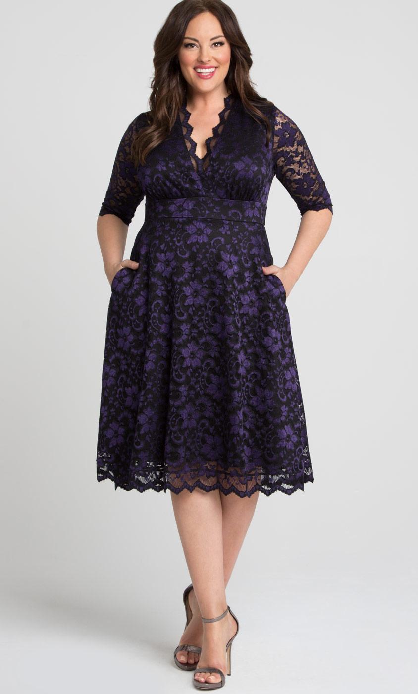 Plus Size Cocktail Party Dresses | Evening Dresses | Formal Gowns ...