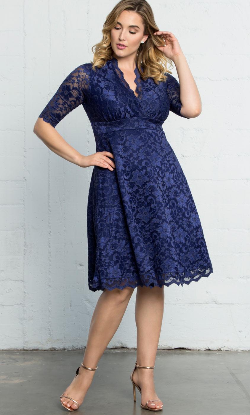 Plus Size Cocktail Dresses | Mademoiselle Lace Dress