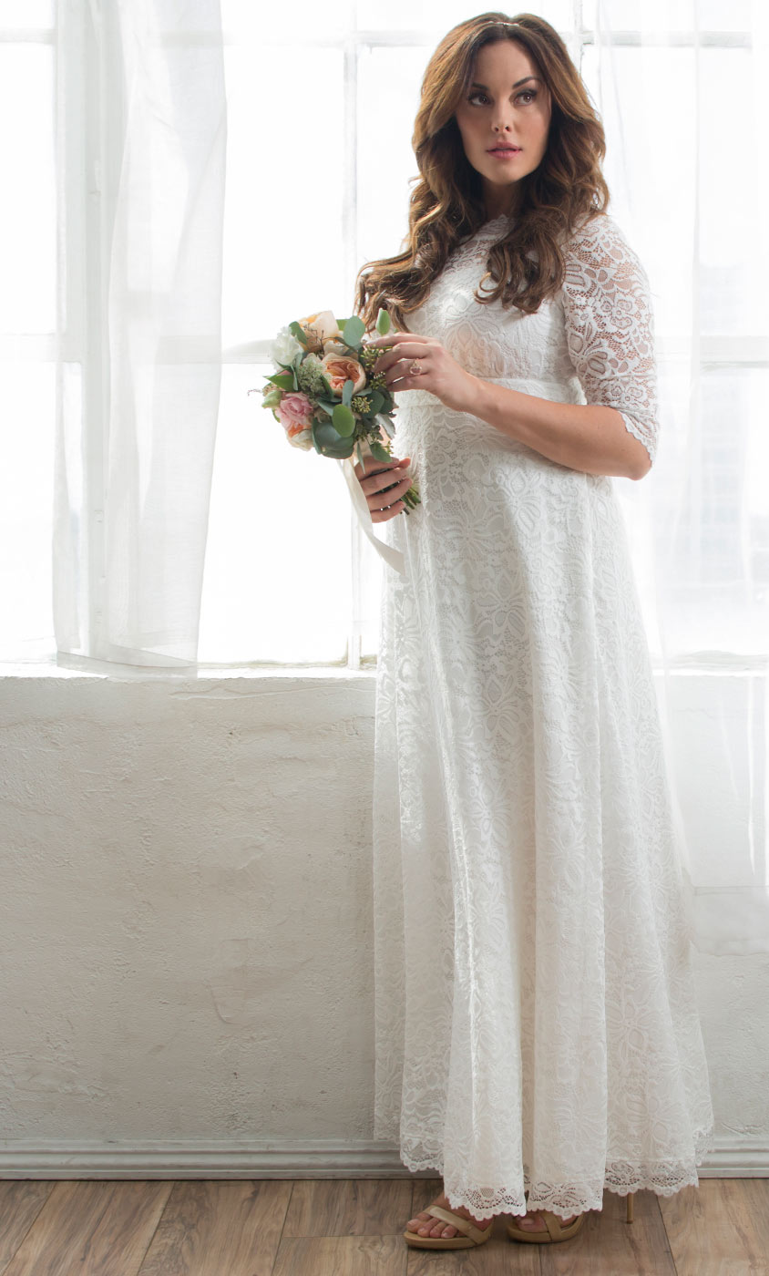 Plus size wedding dresses for women kiyonna clothing sweet serenity wedding gown junglespirit Image collections