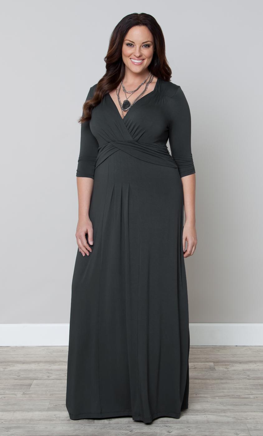 cd730fc1a78 Plus Size Knit Maxi Dress