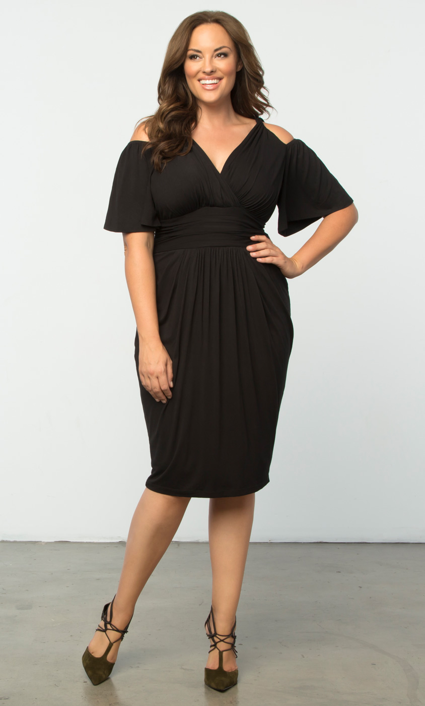 Plus Size Cocktail Dresses | Tantalizing Twist Dress