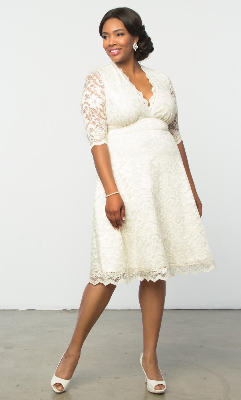 Plus size wedding dresses for women kiyonna clothing junglespirit Image collections