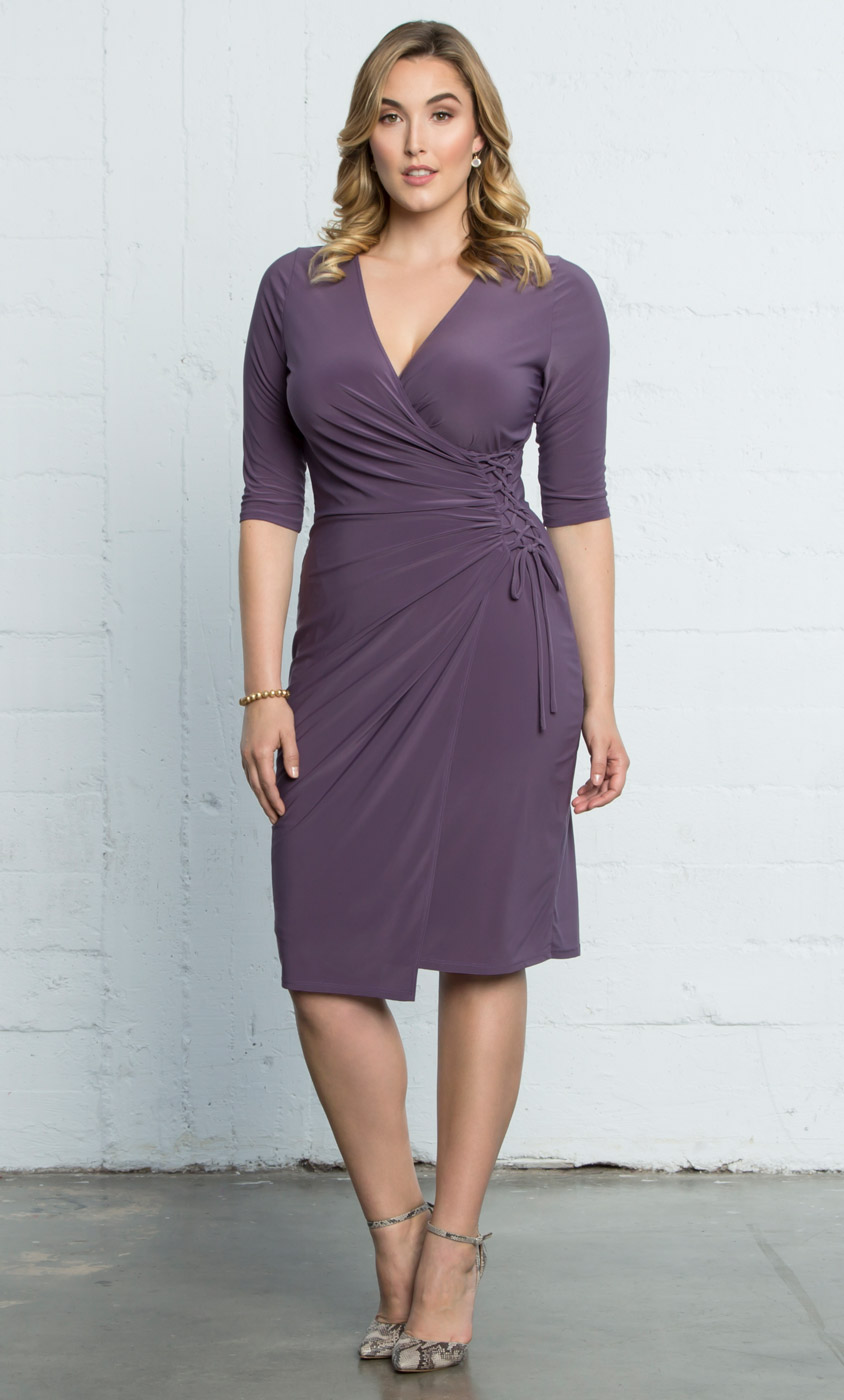 Plus Size Wrap Dresses | Vixen Cocktail Dress